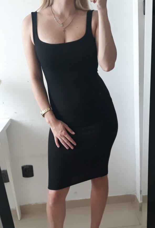 Topshop sukienka prazek midi dopasowana S