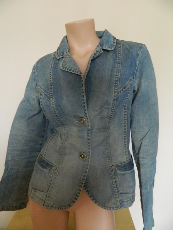 jeansowa kurteczka