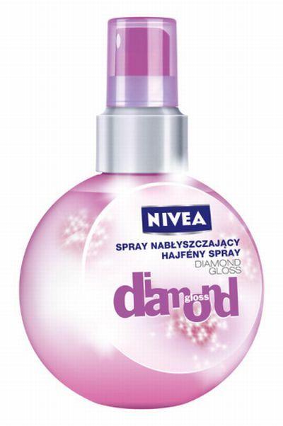 Nivea Spray nabłyszczający Diamond Gloss