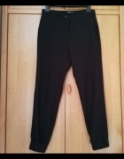 Czarne eleganckie spodnie...