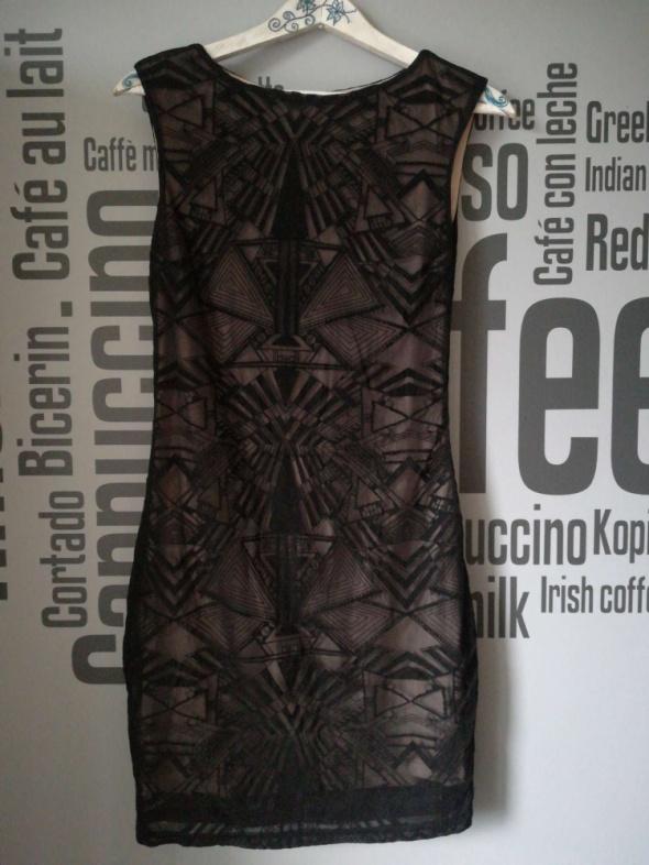Czarna sukienka rozm XS