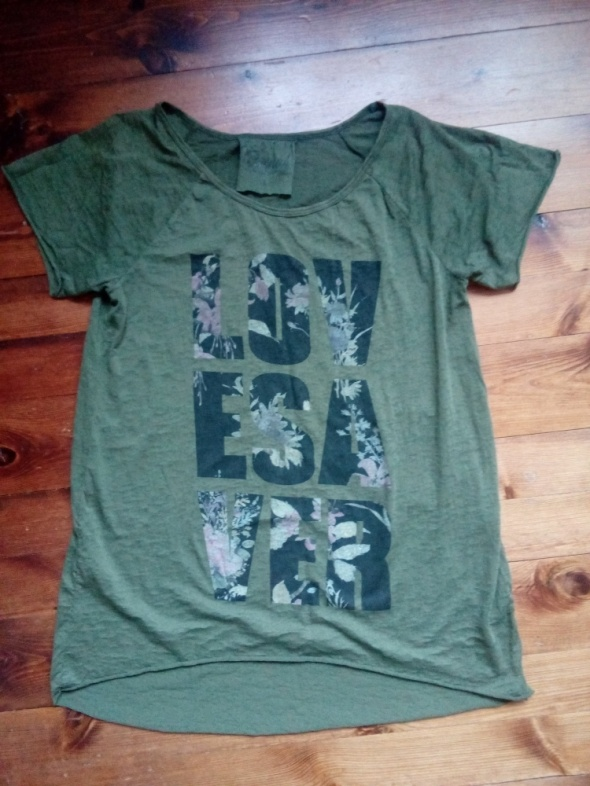 Długa bluzka L XL