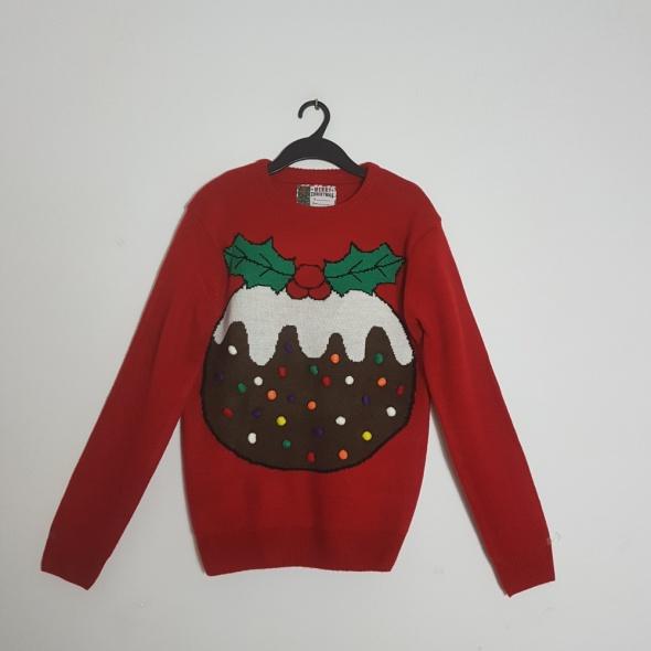 sweter świąteczny M