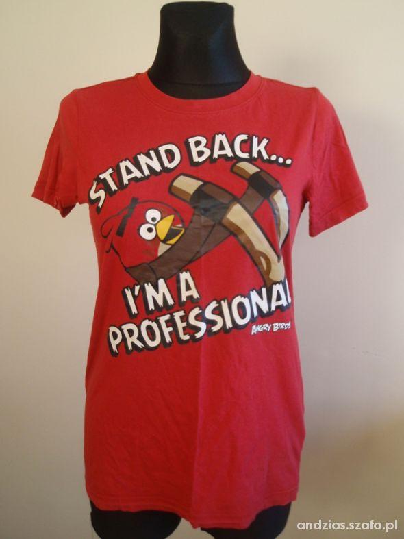 Czarwony t shirt Angry Birds...