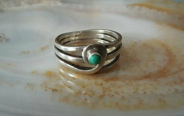 pierścionek rytosztuka turkus