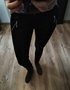 Spodnie leginsy czarne r m...