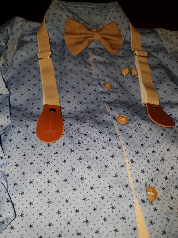 Komplety Koszula niemowlęca ze spodniami