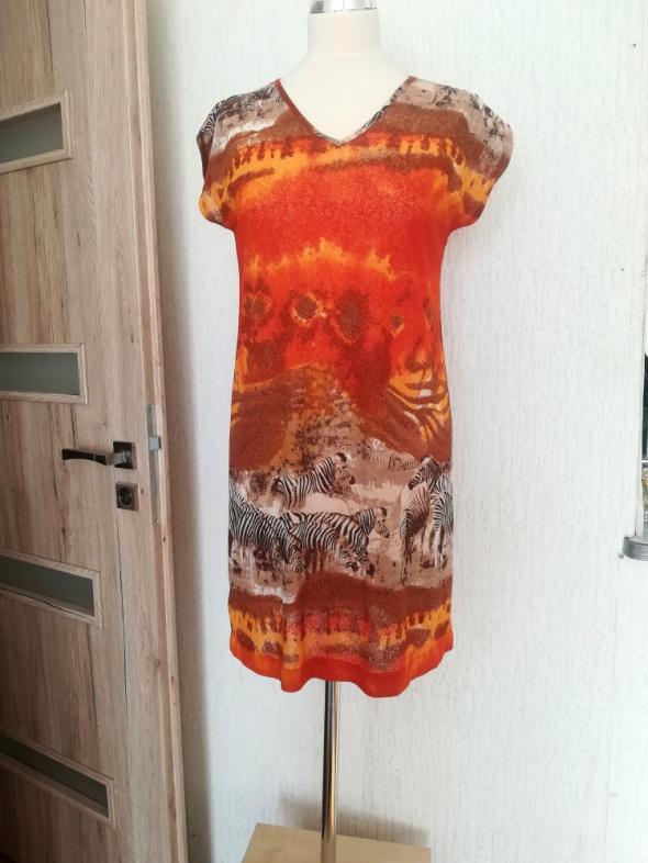 Ultralekka sukienka rozmiar 36 38