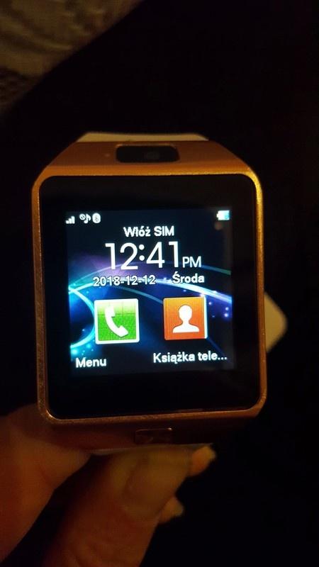 Nowy zegarek Smartwatch