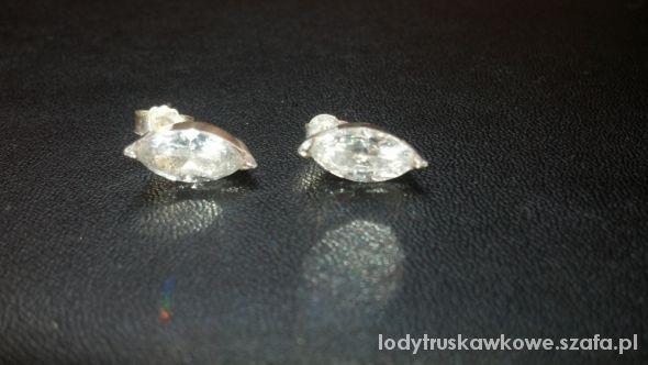 Piękne kolczyki ze srebra...