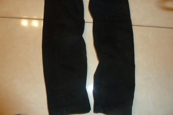 spodnie czarne 122 128