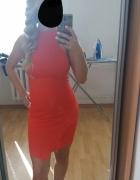 Cudowna Czerwona Sukienka Reserved XS