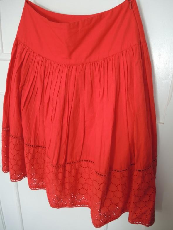Czerwona spódnica Orsay S jak NOWA