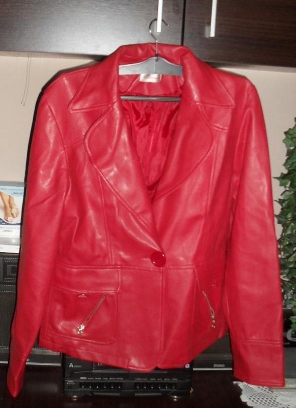 czerwona kurtka roz XL
