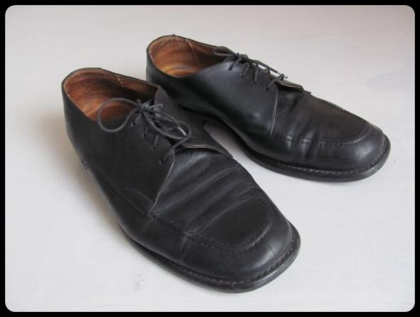Włoskie buty skóra naturalna Lavorazione Artigiana 44