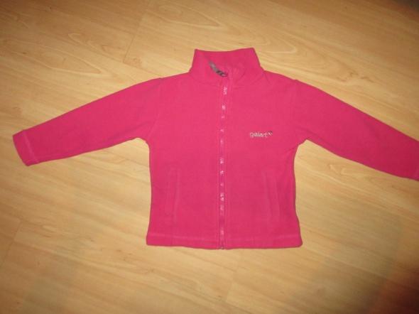 Ciepły polar bluza GELERT różowy roz 104