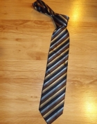 Krawat w prążek Biaggini...