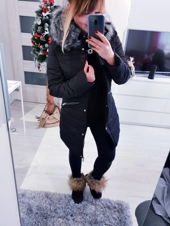 Płaszcz taliowany Winter