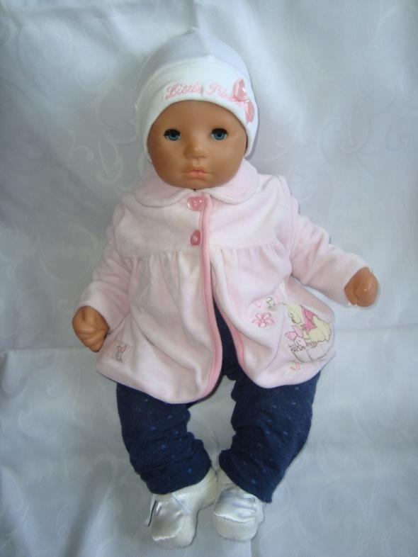 Disney różowa welurowa bluza roz newborn