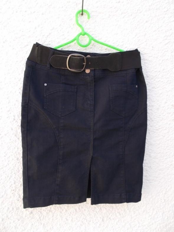 spódnica jeansowa granatowa Camaieu 42