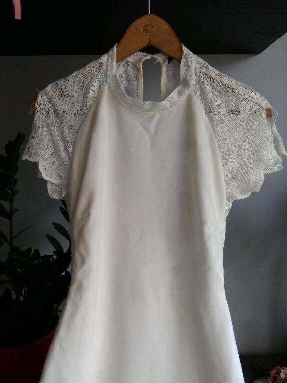 sukienka Zara koronka