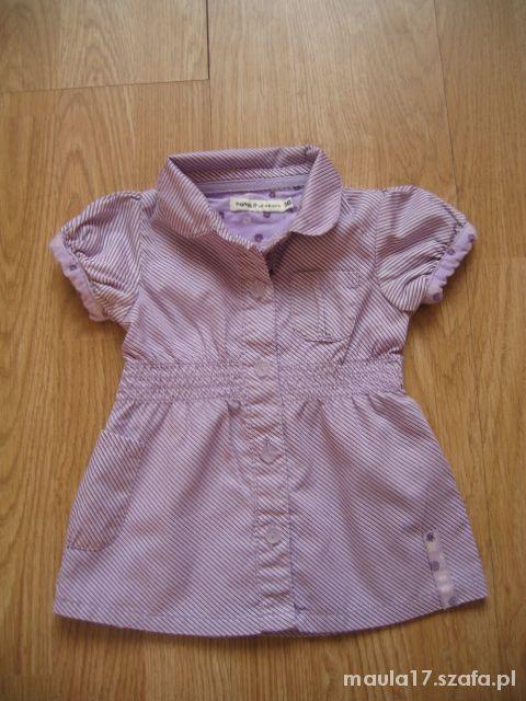 Sukienka tunika dla dziewczynki roz 56