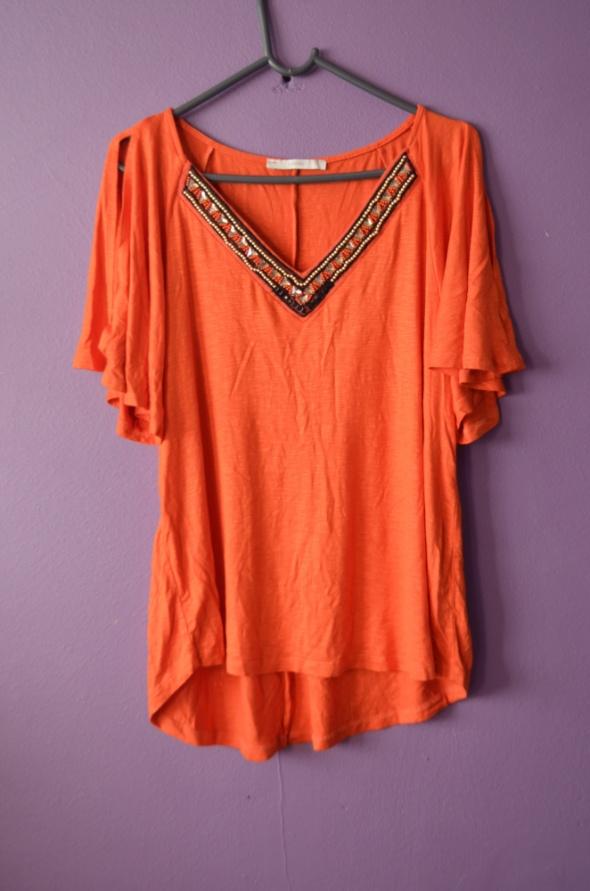 pomarańczowa bluzka XL L 40 42 george coldsholders