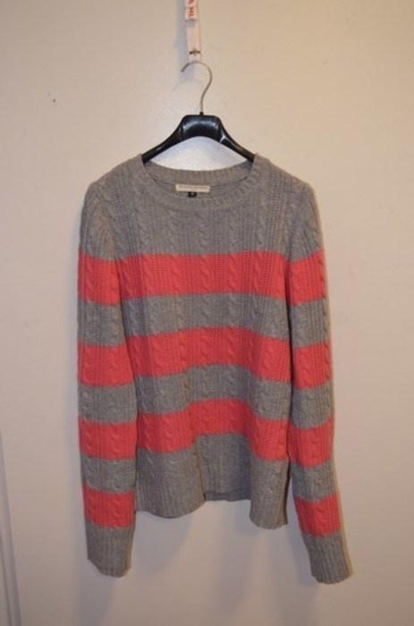 ciepły sweter warkocze warkoczowy splot 38 M