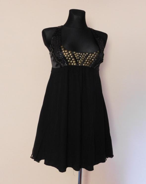 Lipsy czarna sukienka mini 38...