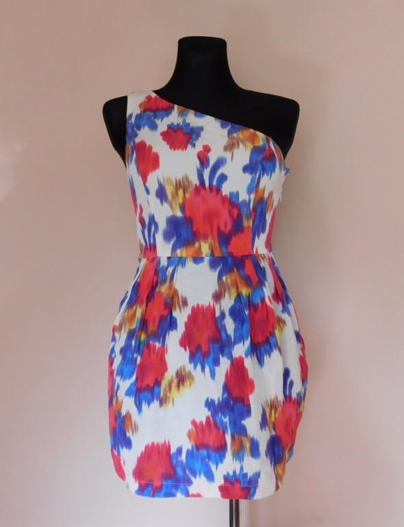 Topshop sukienka mini kolorowa 36 38...