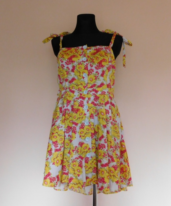 Love Label sukienka letnia w kwiaty 20 XXXL...