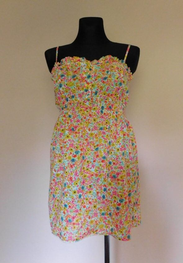 Topshop sukienka kwiatki mini 38