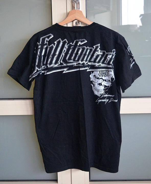 Dobermans Aggressive czarna koszulka czaszka L