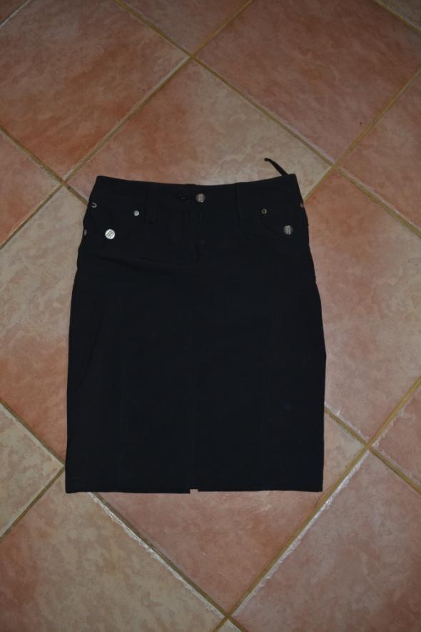 Spódnica Ołówkowa czarna S M