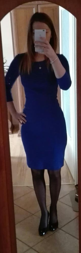 chabrowa sukienka top secret xs...