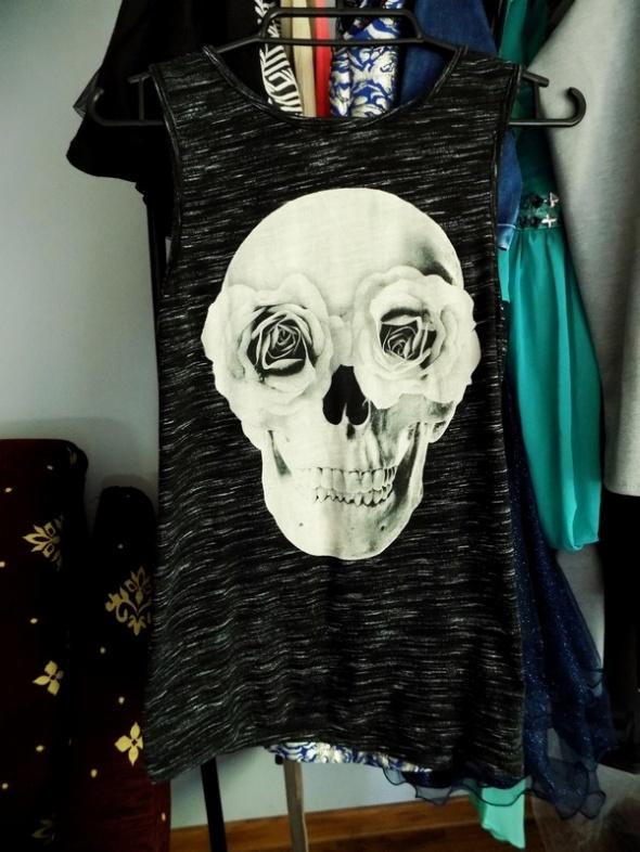 Top print czaszki