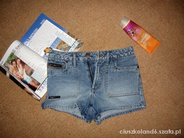 szorty dżinsowe spodenki 34 XS 32 XXS