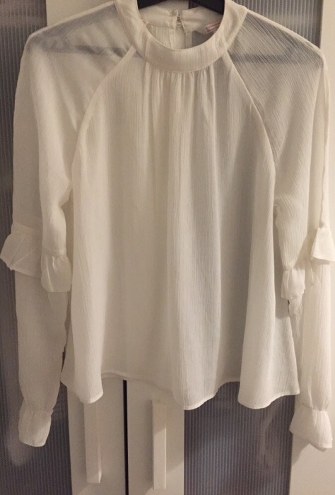 Bluzka C&A zwiewna jak H&M elegancka...