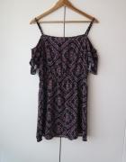 Sukienka H&M odkryte ramiona stan idealny