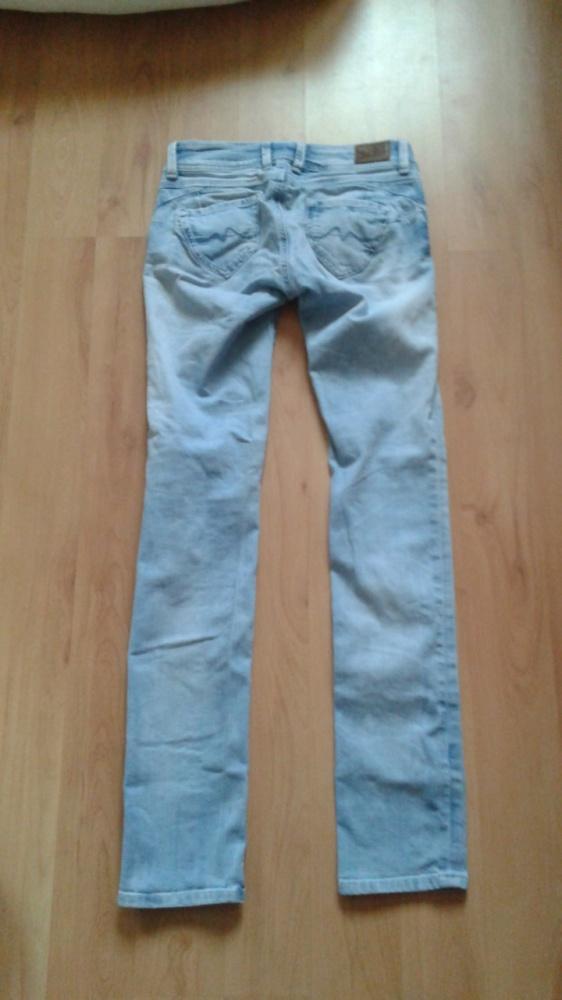 Spodnie dżinsy Pepe Jeans xs powiększające pupę...