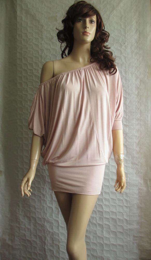 Gina Tricot sukienka oversize opuszczane ramiona 3...