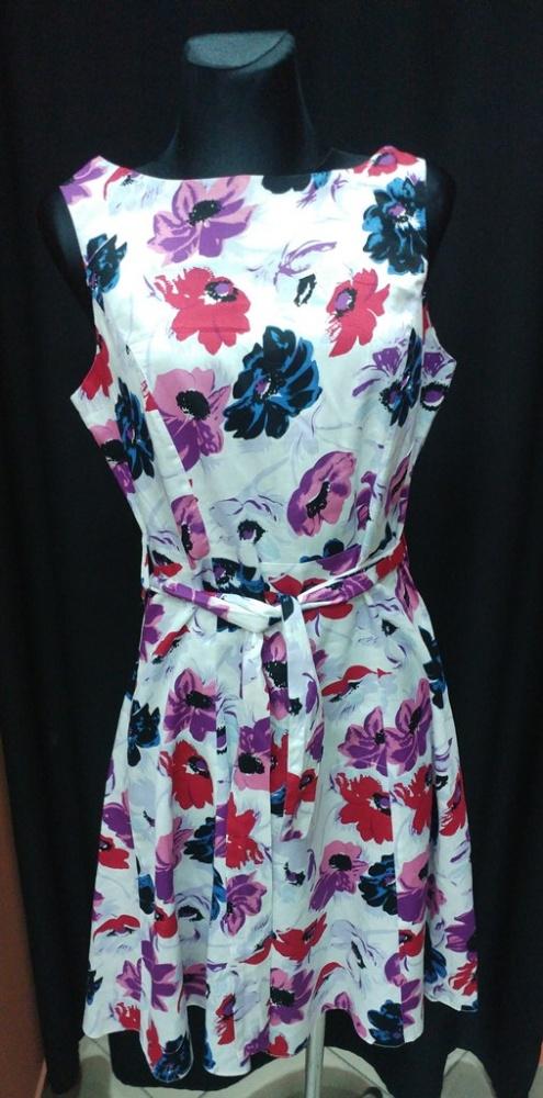 Sukienka kwiaty bawełna Autonomy 40 L