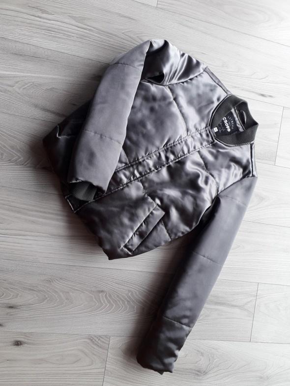 Nowa puchowa kurtka metaliczna Cropp 38...