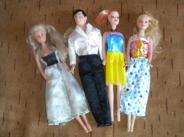 Zabawki lalka barbie