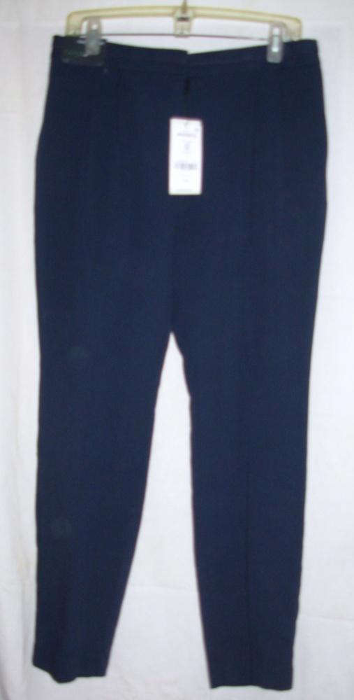 Spodnie Eleganckie granatowe spodnie NEXT 40