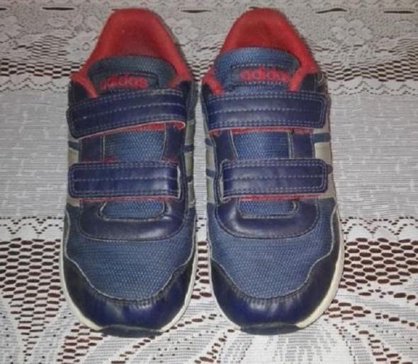 Adidasy ADIDAS ciemny granat dla chłopca r 33