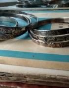 stare srebrne bransolety koła WaRmet Rytosztuka i inne