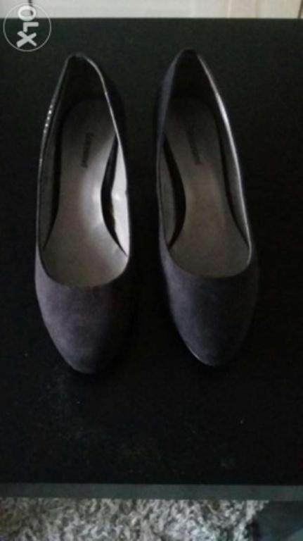 Buty czarne Deichmann...