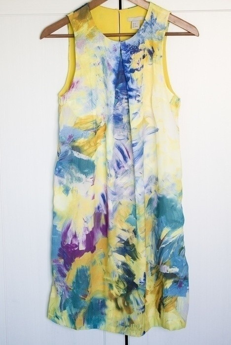 zwiewna sukienka h&m