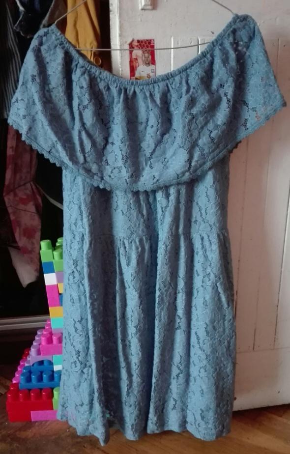 Koronkowa sukienka hiszpanka M L